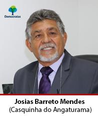 Vereador Josias Barreto Mendes – DEM