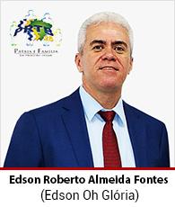 Vereador Edson Roberto Almeida Fontes – PRTB