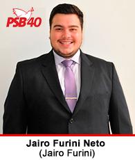 Vereador Jairo Furini Neto – PSB