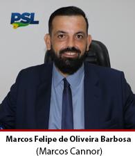 Vereador Marcos Felipe de Oliveira Barbosa – PSL