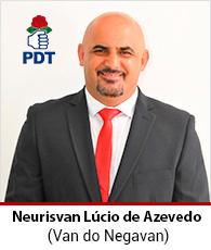 Vereador Neurisvan Lucio de Azevedo – PDT