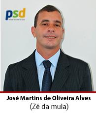 Vereador José Martins de Oliveira Alves- PSD