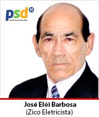 Vereador José Elói Barbosa- PSD