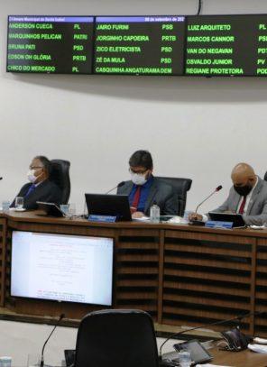 PLENÁRIO APROVA EM PRIMEIRA VOTAÇÃO PROPOSTA À LEI ORGÂNICA DO MUNICÍPIO